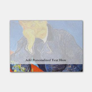 Retrato de Van Gogh | do Dr. Gachet Post-it Note