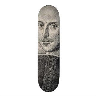 Retrato de William Shakespeare Skate