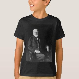 Retrato do filantropo Andrew Carnegie Tshirt