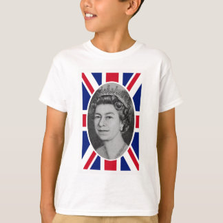Retrato do jubileu da rainha Elizabeth Camiseta