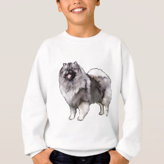 retrato do keeshond camisetas