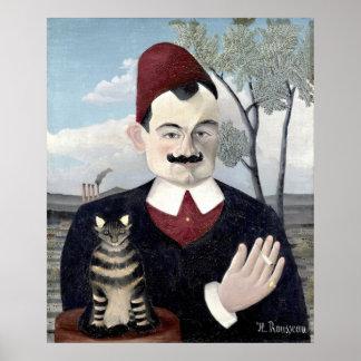 Retrato do Monsieur X, belas artes de Henri Poster