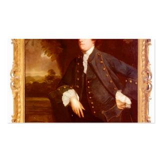 Retrato do senhor William Lowther por Joshua Reyno Cartao De Visita