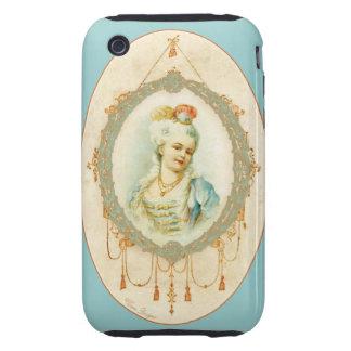 Retrato francês novo Samsung de Marie Antoinette Capa Forte De iPhone 3