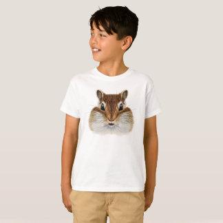 Retrato ilustrado do Chipmunk. T-shirt