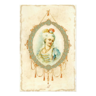 Retrato novo de Marie Antoinette Papelaria