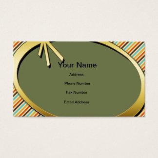 Retro Cartão De Visitas