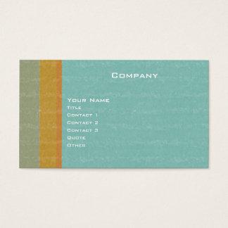 Retro envelhecido cartão de visitas