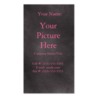 Retro escuro cartão de visita