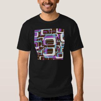 Retro roxo t-shirt