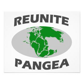 Reuna Pangea Flyer 11.43 X 14.22cm