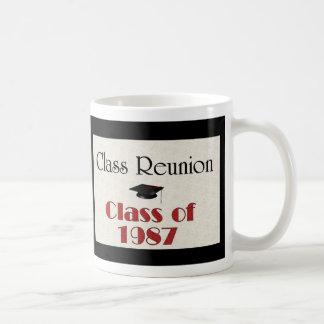 Reunião de classe 1987 caneca de café
