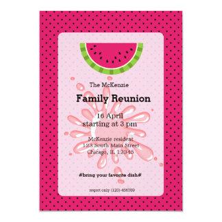 Reunião de família da melancia