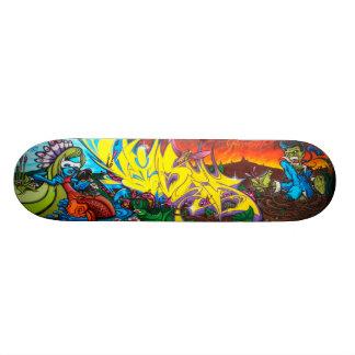 Reunião de mentes - plataforma da arte dos shape de skate 20,6cm