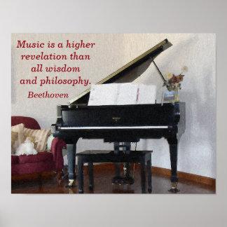 Revelação dos mais alto da música -- Impressão da