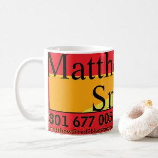 Revisor oficial de contas de Matthew Smith R2B Caneca De Café