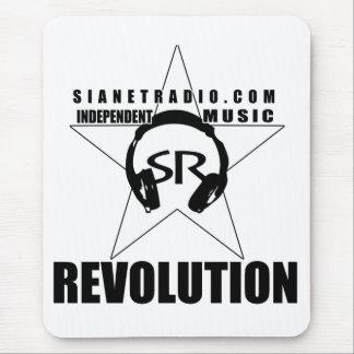 Revolução de rádio Mousepad de SiaNet