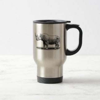 Rhinos do rinoceronte da ilustração do rinoceronte