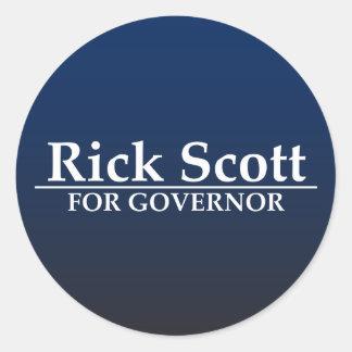 Rick Scott para o governador Adesivo