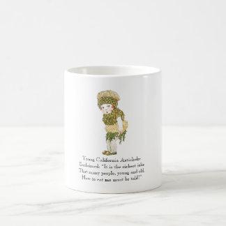 Rima do vegetal da alcachofra de Califórnia do Caneca De Café