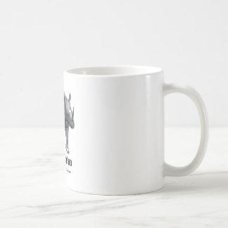 Rinoceronte branco caneca de café