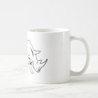 Rinoceronte Caneca De Café