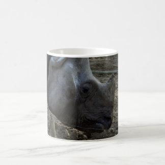 Rinoceronte indiano caneca de café