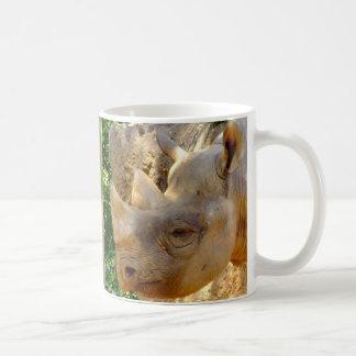 Rinoceronte novo caneca de café