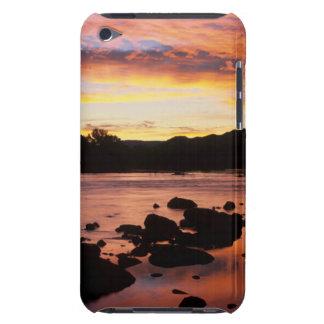 Rio alaranjado no por do sol, nacional de capa iPod Case-Mate