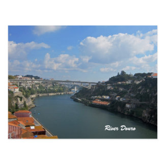 Rio cartão de Douro Portugal Cartão Postal
