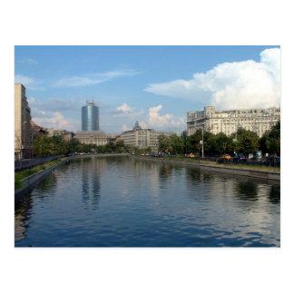 Rio de Dambovita - Bucareste Cartão Postal
