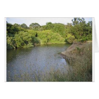 Rio de Napa Cartão Comemorativo