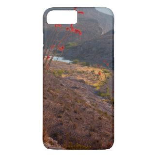 Rio Grande que funciona através do deserto de Capa iPhone 7 Plus