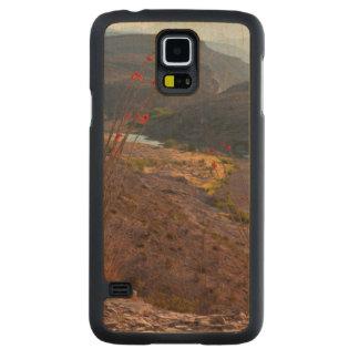 Rio Grande que funciona através do deserto de Capa Slim De Bordo Para Galaxy S5