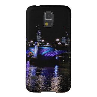 Rio Tamisa na noite, Londres Inglaterra Capas Par Galaxy S5