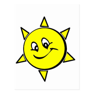 Rir sol cartão postal