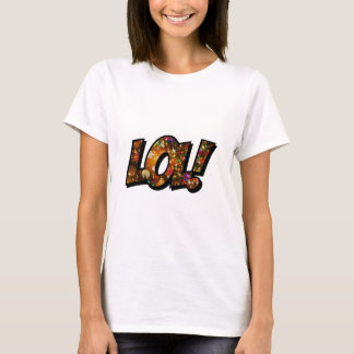 Riso para fora Bokeh alto de LOL Camisetas