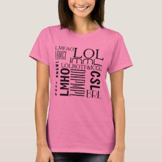 Risos de Texting Tshirt