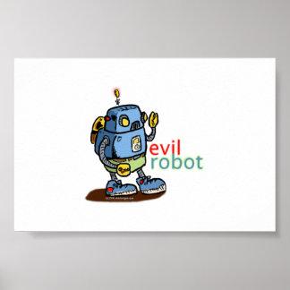Robô mau poster