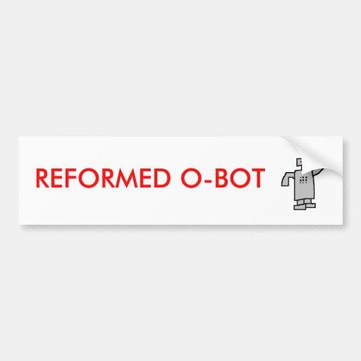 robô, O-BOT REFORMADO Adesivos