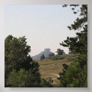 Rocha do castelo pôster