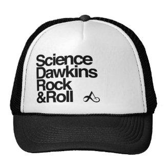 Rocha & rolo dos dawkins da ciência boné