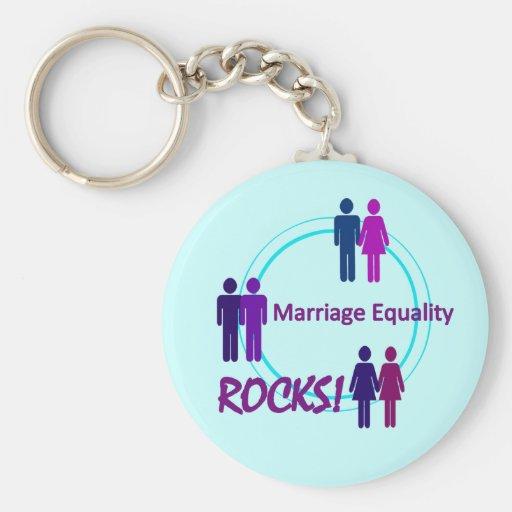 ROCHAS da igualdade do casamento! Chaveiro
