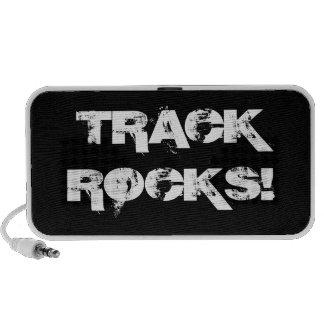 Rochas da trilha! caixinha de som para notebook