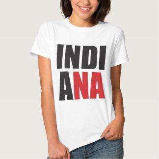 Rochas de Indiana! Presentes do espírito do estado Tshirts