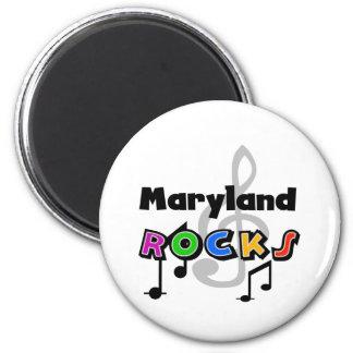 Rochas de Maryland Ímã Redondo 5.08cm