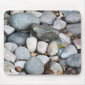Rochas lisas da paisagem mouse pad