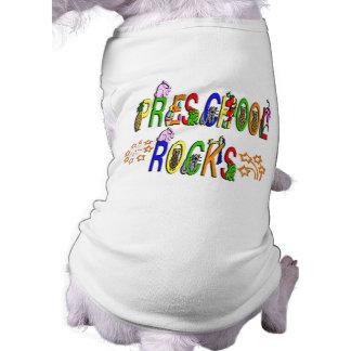 Rochas prées-escolar - estrelas camisa sem mangas para cachorro