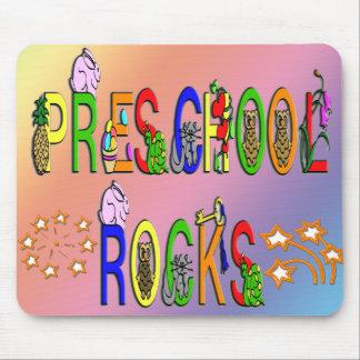 Rochas prées-escolar - estrelas mouse pad