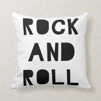 Rock and roll almofada